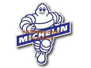 VINTAGE-MICHELIN-MAN-TYRE-DECAL-STICKER-LABEL-LARGE-210-mm-X-190-mm-HOT-ROD