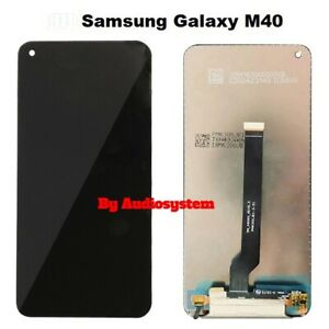 DISPLAY-LCD-TOUCH-SCREEN-SAMSUNG-per-GALAXY-M40-SM-M405-SCHERMO-VETRO-NERO