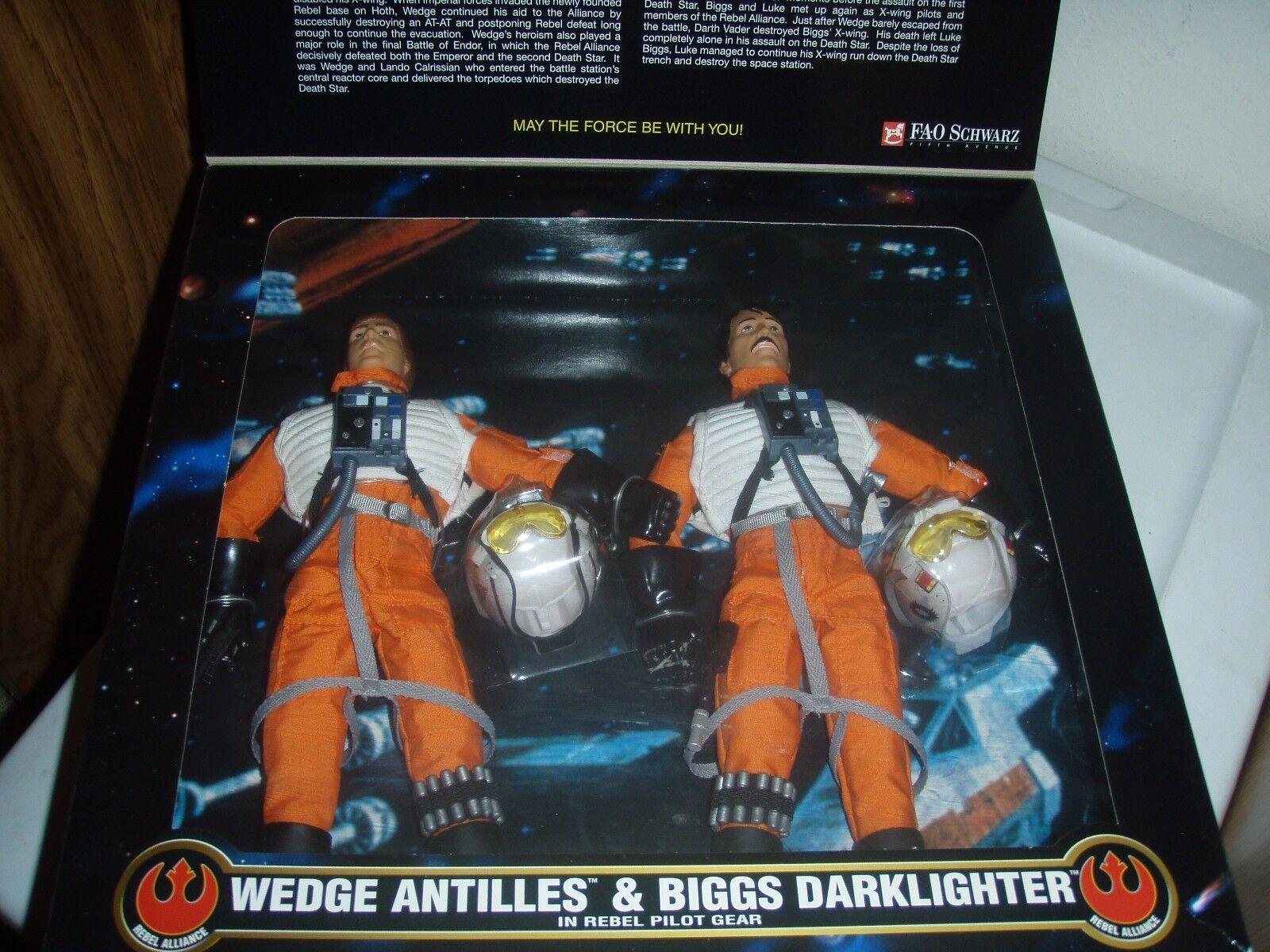 Star Wars  Wedge Antilles & Biggs Darklighter Action Collection 12 inch 1998