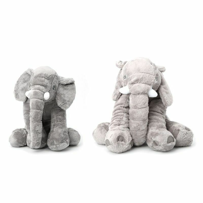 "UK 24"" Large Big Soft Plush Stuffed Elephant Animal Toys Teddy Bear Play Pillow 5"