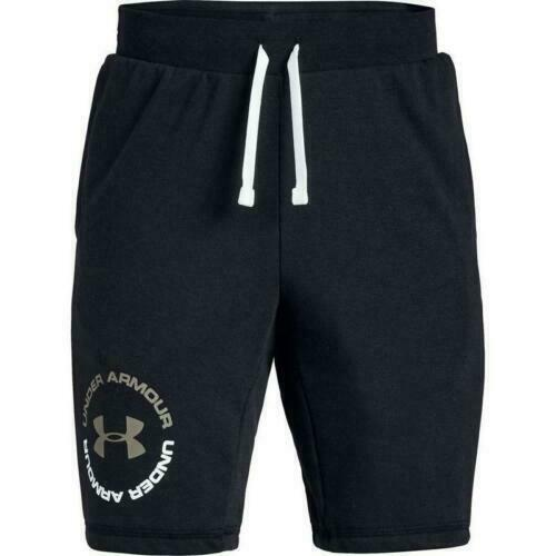 Details about  /NWT Under Armour Youth Boys Rival Terry Shorts Black MSRP:$30 Free Ship