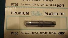Weller Pte6 Screwdriver Tip 600f For Tcp1 Tc201 Tcp12 Tcp24 Irons