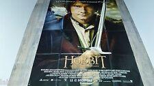 le seigneur des anneaux LE HOBBIT 1.2.3. ! les 3 affiches tolkien peter jackson
