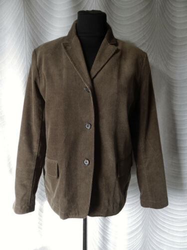TOAST Cord Brown  Jacket Size 14