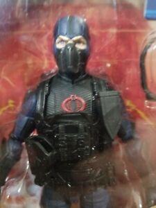 Gi joe classified cobra island cobra trooper black collar Last One