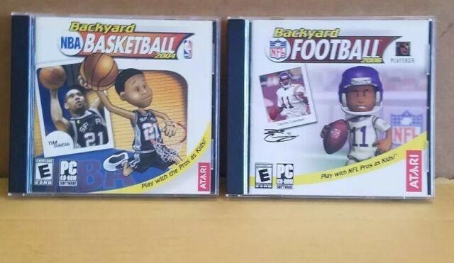 Backyard Basketball 2004 (PC, 2003) CD-ROM Complete + 2006 ...