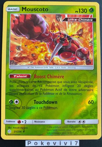 Pokemon card reverse holo mouscoto 21//236 sun and moon 12 sl12 fr new