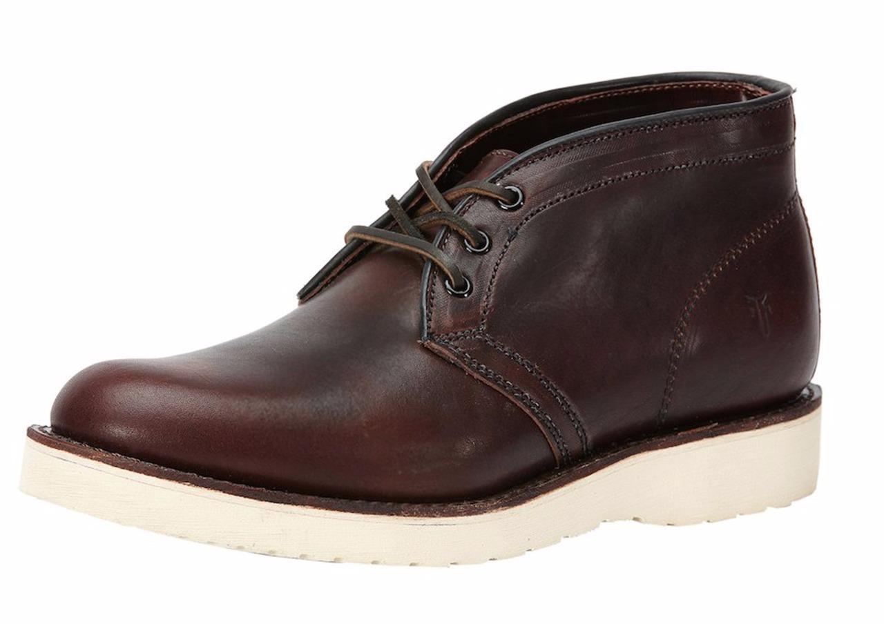 New in Box - 358.00 FRYE Freeman Redwood Leather Chukka Boot Men's Size 9