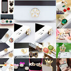Best Cute 3D Home Button Sticker For iPhone 4/ 4S iPhone 5 iPad 1/2 iPhone 6