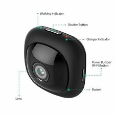 Matego Hidden Camera 1080P Pocket Wireless WiFi Spy Camera with Several Kinds of