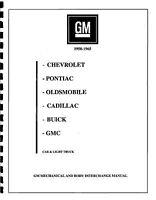Gm 1950-1965 Part Interchange Manual