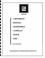 Gm 1950-1965 Part Interchange Manual