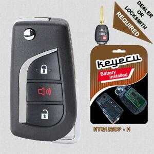Upgraded Flip Remote Key Fob for Toyota RAV4 Tacoma 2014-16 / Scion xB 2013-15