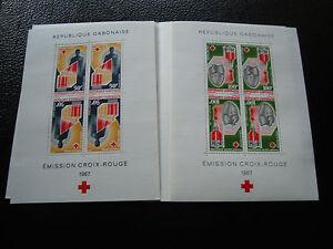 Briefmarke Zahlreich In Vielfalt z7 WohltäTig Gabun 6 7 N Briefmarke Yvert Und Tellier Block Nr