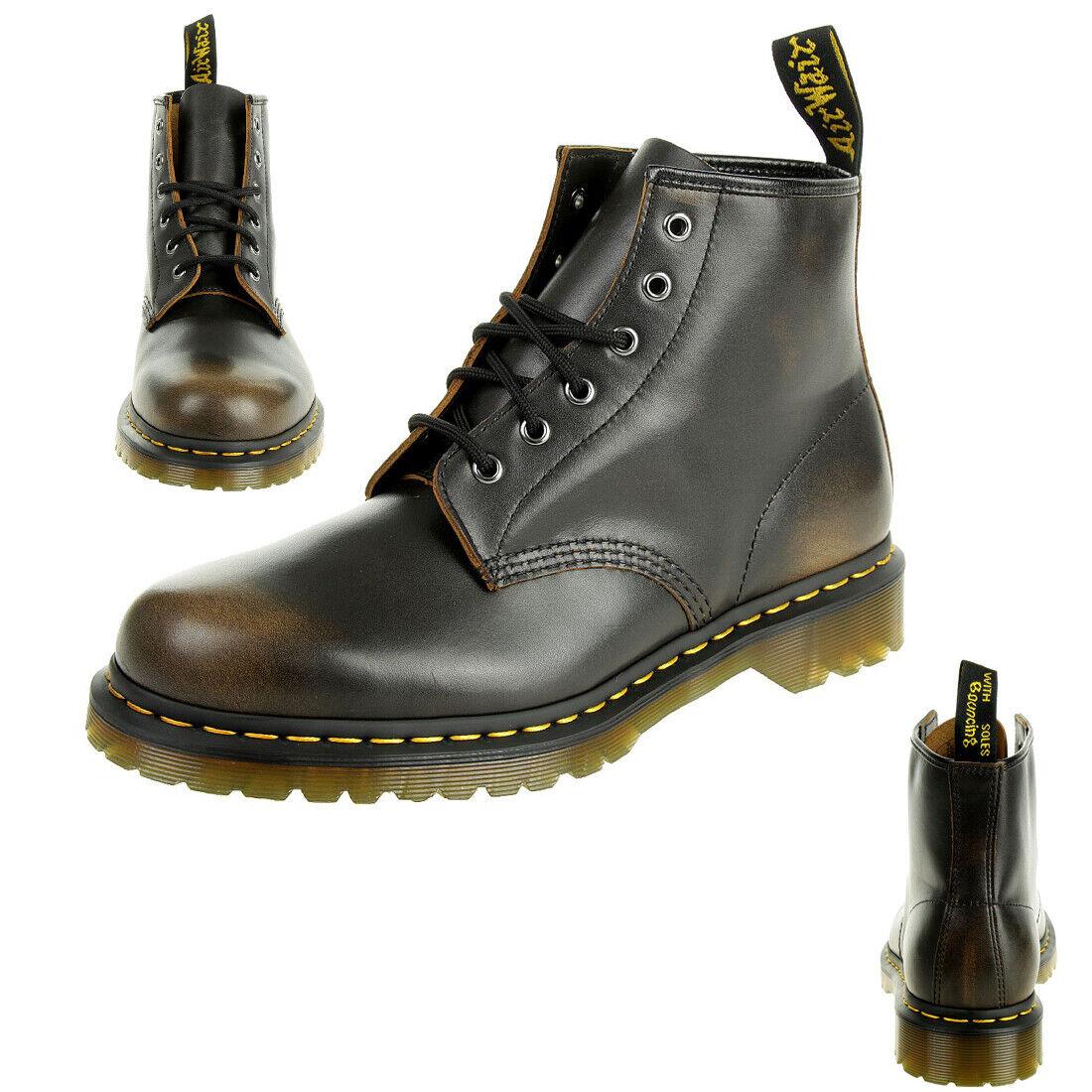 Dr. Martens 101 vintage Butterscotch unisex botas marrón 24671243