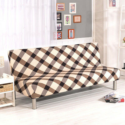 Cool Yellow Folding Armless Elastic Couch Lounge Sofa Cover Protector Slipcovers Usa Short Links Chair Design For Home Short Linksinfo