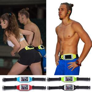 iPhone 8/7/6s Plus Waterproof Case Pouch Sports Jog Running Belt Waist Pack Bag
