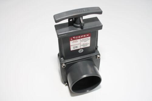 """3,5bar18,7 CEPEX zugschieber 63mm//2/"""" pvc-raccord avec adhésif manchon"""