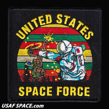 USAF 11th SPACE WARNING SQ - SPACE FORCE -SCHRIEVER AFB, CO- ORIGINAL VEL PATCH