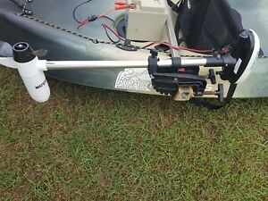 Details about Koastal Kayak for sale, seat, paddle and electric motor,  excellent condition