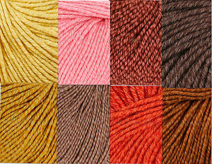 Classic-Elite-Chesapeake-Organic-Cotton-Merino-Yarn-Color-Choice-Knit-Crochet