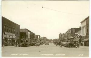 KS, Concordia, Kansas, RPPC, Sixth Street, Looking East