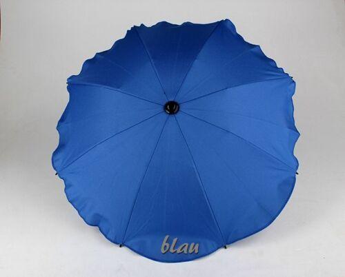 UNIVERSAL Sonnenschirm Schirm für alle Kinderwagen Buggy Ø68cm UV50 SCHUTZ NEU
