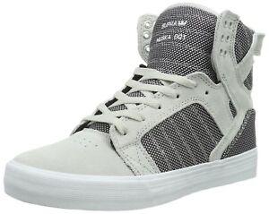 bicoloreblanc de Skytop Gris 10 pourpre Violet pour Sneaker Supra SMpqUzV