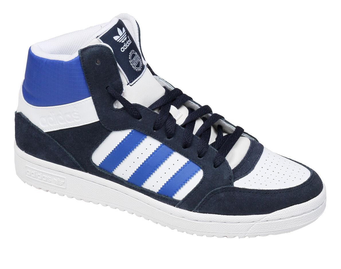 Adidas Originals pro play cortos Trainers zapatillas de deporte deporte deporte blancoazul hombre nuevo 3eff57