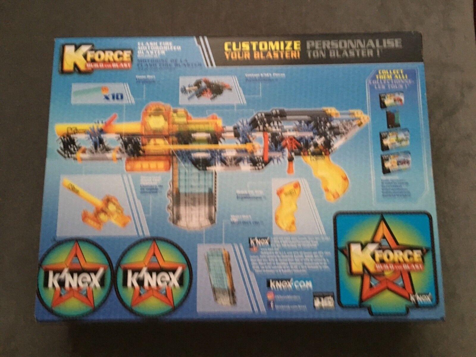 Neue k'nex kforce feuerwalze motorisierten blaster