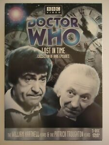 2004-REGION-1-DVD-DOCTOR-WHO-LOST-IN-TIME-COLLECTION-HARNELL-TROUGHTON-3-DISC