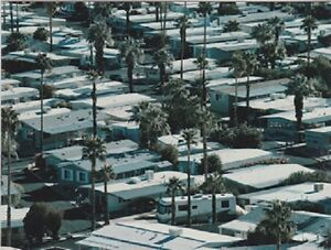 Scenic-View-Trailers-and-RVs-Parked-in-Big-Trailer-Park-Postcard