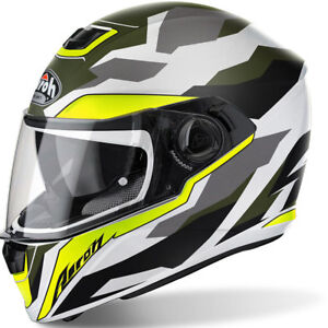 Airoh-Storm-Soldier-Mate-Camuflaje-Motocicleta-Moto-Casco-Pinlock