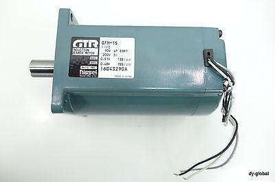 NISSEI GFM-15 90W 4P 200V 3Phase INDUCTION GEARED MOTOR NNB MOT-I-102