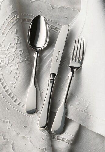 Robbe & Berking  Spaten  925er Silber -  4-tlg. Menübesteck - fabrikneu