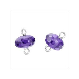 5-CZ-Silver-Rondelle-Beads-Connector-6mm-Purple-51564