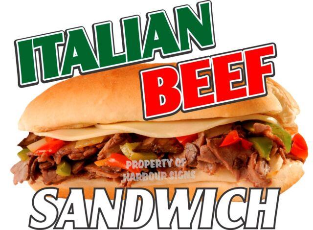 "Specialty Sandwiches Decal 14/"" Food Truck Concession Restaurant Vinyl Sticker"