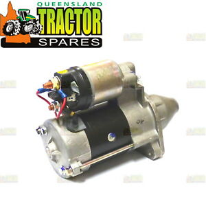 Details about Ferguson TE20, TEA20, TED20 etc 6 Volt to 12 Volt Conversion  Starter Motor
