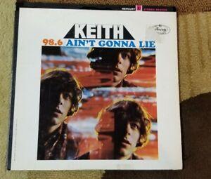Vintage-1967-KEITH-034-98-6-Ain-039-t-Gonna-Lie-034-LP-Mercury-Records-SR-61102-NM