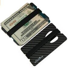 Carbon Fiber Money Clip Wallet Credit Card Holder Slim Bottle Opener Men Gift