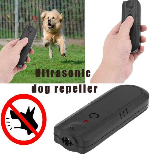 Anti Bark Device Ultrasonic Dog Barking Control Stop Repeller Trainer Train Tool