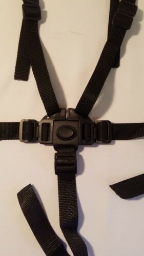 CHICCO Cortina CX Stroller 5 Point Buckle Harness Clip Straps Replacement Parts