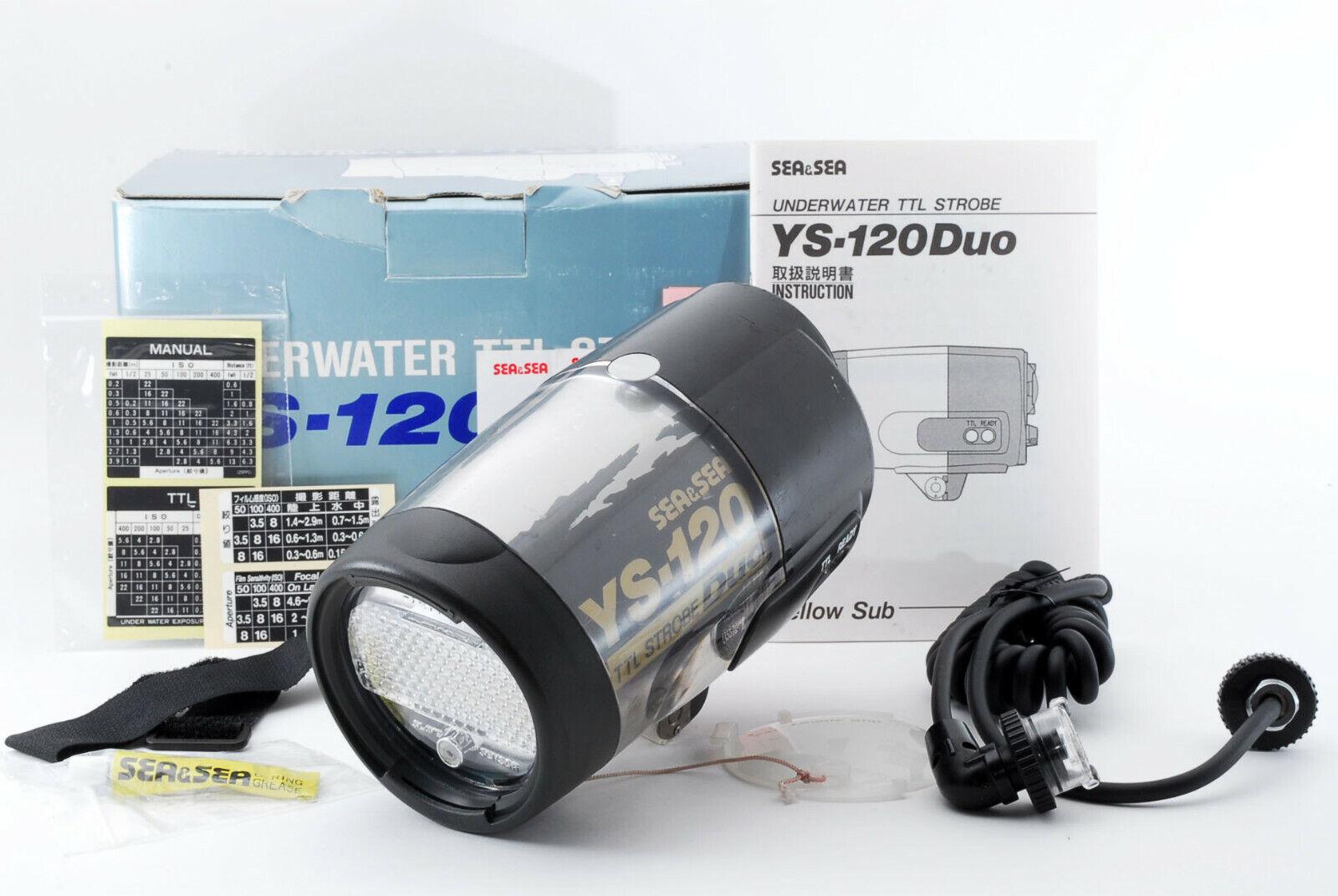 Box in [ Sehr Gute Sea&sea YS-120 Unterwasser Flash W   Synchronisierung Kabel