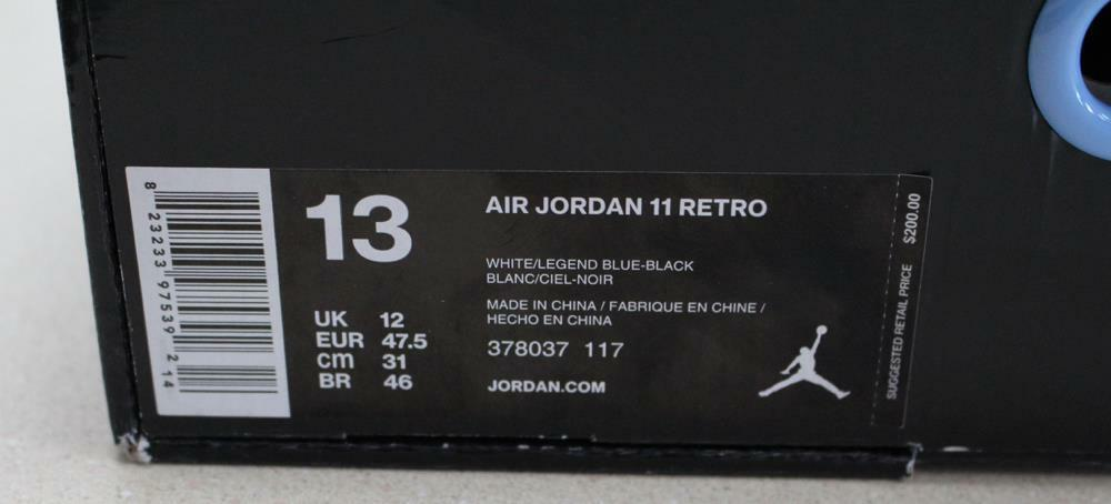Nike air jordan retro - - - 11 - legende blaue columbia 378037-117 . 3370d6