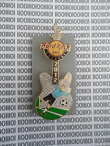Hard Rock Cafe Cologne - German Soccer Player Goal Keeper Guitar - HRC Pin