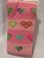 Valentines Day Hearts Tights Size 3-5 Years Colorblock Heart Tights