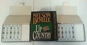 AUDIO-BOOK-CASSETTE-Nelson-DeMille-Up-Country-20-Cassettes-Read-By-Scott-Brick