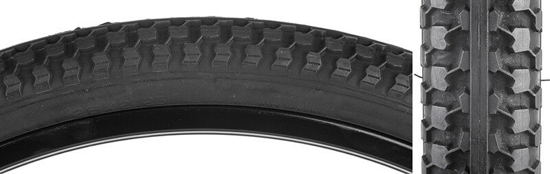 Sunlite MTB Raised Center Tire Sunlt 26x2.125 Cst727 bk bk Raisdtr K52