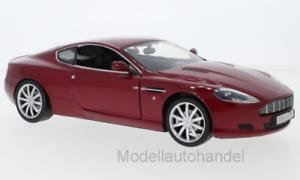 metallic-dunkelrot Aston Martin DB9 1:18 Motormax  *NEW*