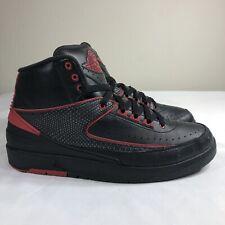 0b1a2e3b96d item 1 Nike Air Jordan 2 II Retro Alternate 87 Black Red Men's 10 Bred  Chicago Playoffs -Nike Air Jordan 2 II Retro Alternate 87 Black Red Men's  10 Bred ...